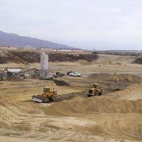 Grading Soil Cement